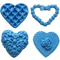 First Impressions Moulds Heart Set 2