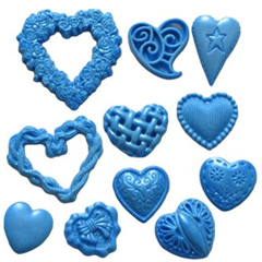 First Impressions Moulds Heart Set