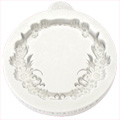 Katy Sue Floral Circle Silicone Mould