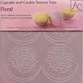 Floral Cupcake & Cookie Texture Tops 3pcs