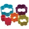 Flower Cookie Cutter Set 6pcs