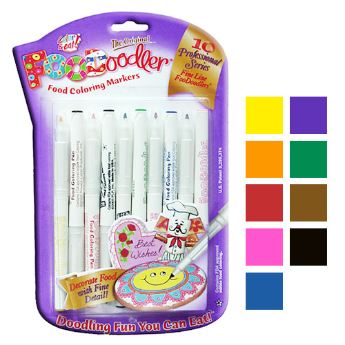 FooDoodler Fine Line Edible Pen