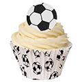 Football Soccer Ball Edible Wafer 12pcs