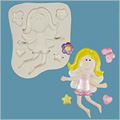 FPC Sugarcraft Funky Fairy Silicone Mould