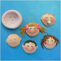 Funny Face Silicone Mould