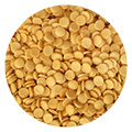 Glimmer Confetti 4mm Gold 80g