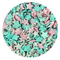 Glimmer Unicorn Mini Stars Edible Sprinkles 80g
