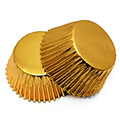 Gold Foil Baking Cups (#550) 240pcs