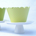 Green Light Cupcake Wrapper 12pcs