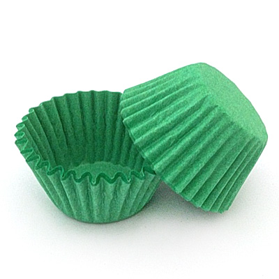 Green Nordic Paper Baking Cups (#550)