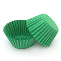 Green Nordic Paper Mini Baking Cups 240pcs