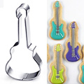 Guitar Stainless Steel Cookie Cutter