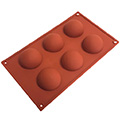 Half Sphere Silicone Baking Mould 70mm