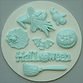 Alphabet Moulds Halloween Silicone Mould