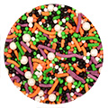Halloween Witches Brew Mix Sprinkles 120g