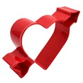 Heart & Arrow Red Cookie Cutter