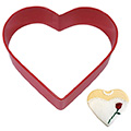 Heart Red Resin Cookie Cutter