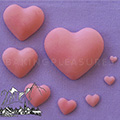 Alphabet Moulds Hearts Silicone Mould