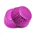 Hot Pink Foil Mini Baking Cups 240pcs