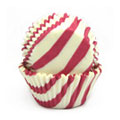 Hot Pink Zebra Mini Baking Cups 65pcs