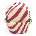 Hot Pink Zebra Print Baking Cups 32pcs