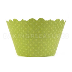 Irish Eyes Green Cupcake Wrappers 12pcs