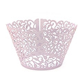 Ivy Pearl Light Purple Lace Cupcake Wrappers 12pcs