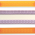 JEM Hearts & Diamonds Ribbon Cutter Set