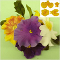 JEM Cutters Pansy and Violet Cutters 4pcs
