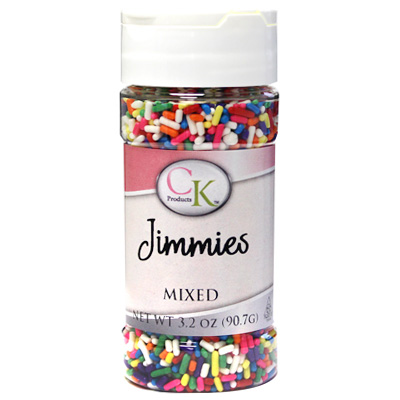 CK Jimmies Mixed Colours Sprinkles 90g