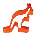 Kangaroo Orange Cookie Cutter