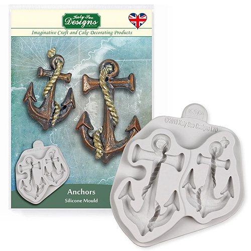 Katy Sue Anchors Silicone Mould