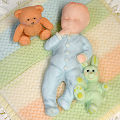 Katy Sue Baby Boy Silicone Mould