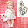 Katy Sue Baby Girl Silicone Mould