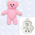 Katy Sue Baby Teddy Bear Silicone Mould