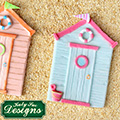 Katy Sue Beach Hut Silicone Mould