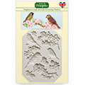 Katy Sue Blossoms & Birds Silicone Mould