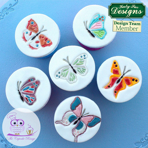 Katy Sue Butterflies Silicone Embossers