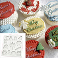 Katy Sue Christmas Embellishments Silicone Mould