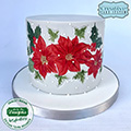 Katy Sue Christmas Holly & Mistletoe Silicone Embossers