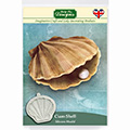 Katy Sue Clam Shell Silicone Mould QFS