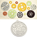 Katy Sue Cogs & Wheels Silicone Mould