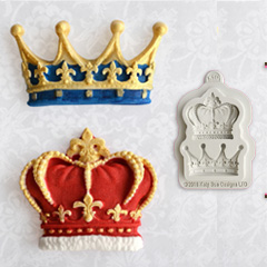 Katy Sue Crowns Silicone Mould
