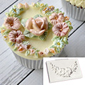 Katy Sue Floral Swag Silicone Mould