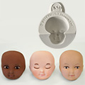 Katy Sue Head 1 Inch Silicone Mould