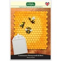 Katy Sue Continuous Honeycomb and Bees Silicone Mould