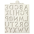 Katy Sue Iron Alphabet Silicone Mould