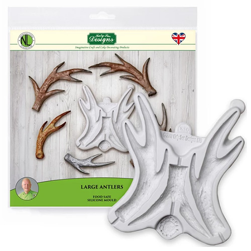 Katy Sue Large Antlers Silicone Mould