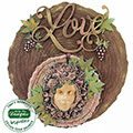 Katy Sue Log Textured Silicone Mould