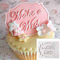 Katy Sue Make A Wish Mini Plaque Silicone Mould